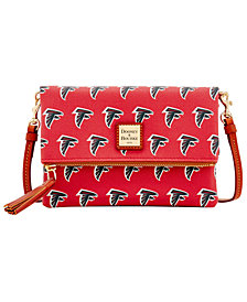 Dooney & Bourke Atlanta Falcons Foldover Crossbody Purse