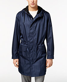 Kenneth Cole New York Men's Pinstripe Anorak