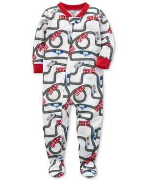Carters Racetrack Footed Pajamas Baby Boys (024 months)