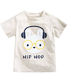 First Impressions Print Cotton T-Shirt, Baby Boys, Created for Macy's