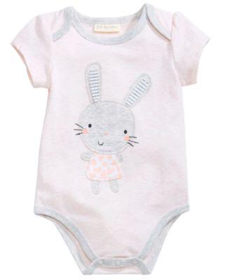 Bunny Bodysuit, Baby Girls, Created for Macy's