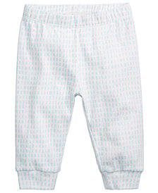 First Impressions Dash-Print Cotton Jogger Pants, Baby Boys, Created for Macy's