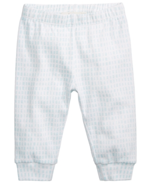 First Impressions DashPrint Cotton Jogger Pants Baby Boys (024 months) Created for Macys