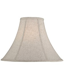 "Lite Source 16"" Cross Weave Linen Shade"