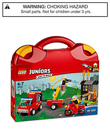 LEGO® 110-Pc. Juniors Fire Patrol Suitcase 10740