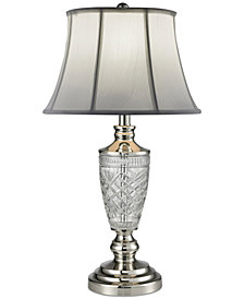 Dale Tiffany Cornwall Crystal Table Lamp