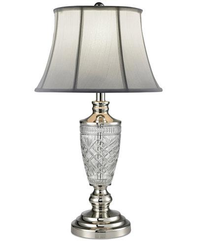 Dale tiffany cornwall crystal table lamp