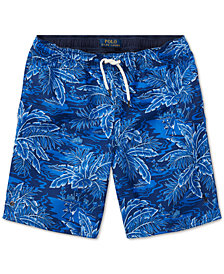 Ralph Lauren Printed Swim Trunks, Big Boys
