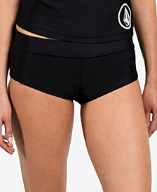 Volcom Solid Cheeky Boyshort