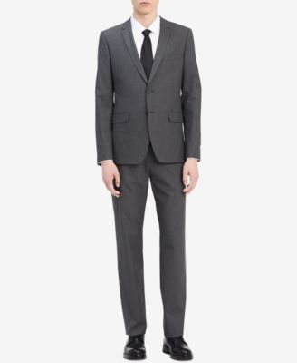 a4fa722d5c Calvin Klein Men s Infinite Slim-Fit Suit Separates   Reviews - Men s  Brands - Men - Macy s