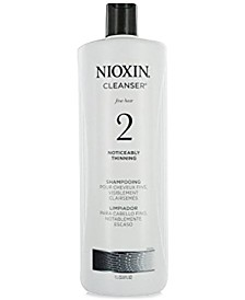 Nioxin System 2 Cleanser, 33.8-oz., from PUREBEAUTY Salon & Spa