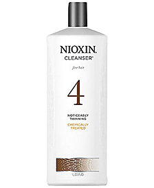 Nioxin System 4 Cleanser, 33.8-oz., from PUREBEAUTY Salon & Spa