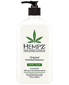 Hempz Original Herbal Body Moisturizer, 17-oz., from PUREBEAUTY Salon & Spa