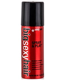Big Sexy Hair Spray & Play Volumizing Hairspray, 1.5-oz., from PUREBEAUTY Salon & Spa