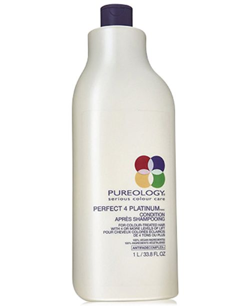 Pureology Perfect 4 Platinum Conditioner, 33.8-oz., from PUREBEAUTY Salon & Spa