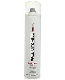 Paul Mitchell Super Clean Medium Hold Finishing Spray, 10-oz., from PUREBEAUTY Salon & Spa