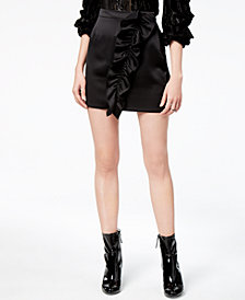ASTR The Label  Isa Ruffled Skirt