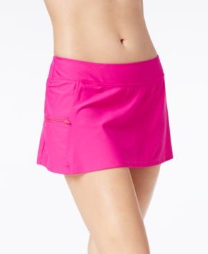 Go by Gossip Side-Zip Swim Skirt Women's Swimsuit