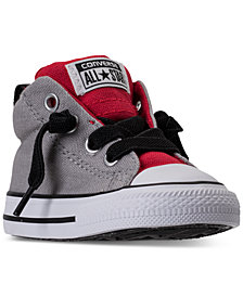Converse Toddler Boys' Chuck Taylor All Star Street Mid Casual Sneakers from Finish Line