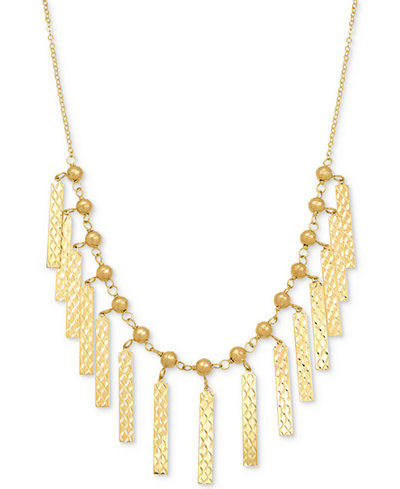 Cleopatra Collar Necklace in 10k Gold