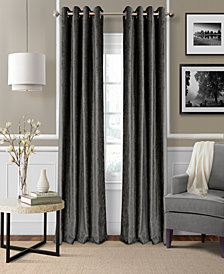 Elrene Victoria Velvet Room Darkening Thermal Window Treatment Collection
