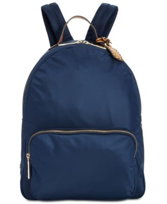 tommy hilfiger navy backpack