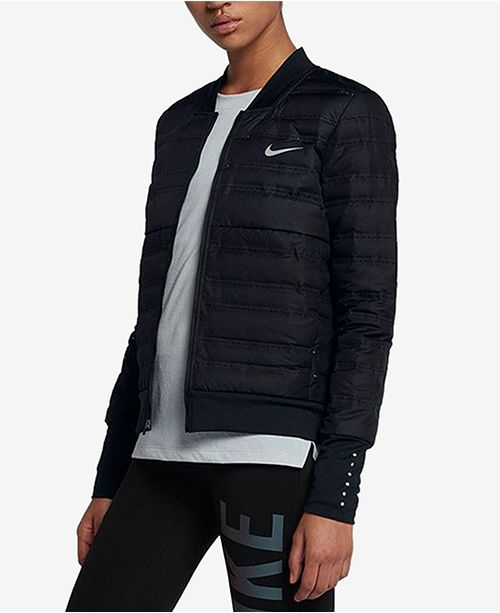 Nike AeroLoft Down Running Jacket & Reviews Jackets