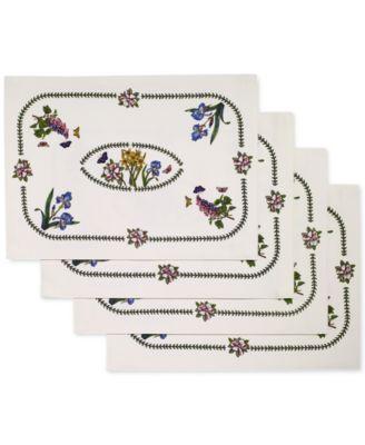 Botanic Garden 4-Pc. Placemat Set
