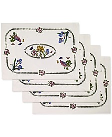 Botanic Garden 4-Pc. Placemat Set