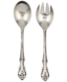 Shiraleah Mr and Mrs Salad Servers