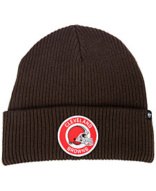 '47 Brand Cleveland Browns Ice Block Cuff Knit Hat