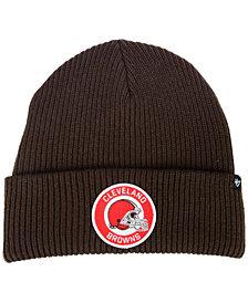 '47 Brand Cleveland Browns Ice Block Cuff Knit Hat