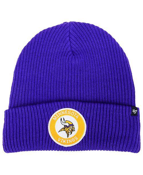 ef128178b ... best price minnesota vikings ice block cuff knit hat 86a75 12f01