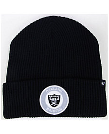 '47 Brand Oakland Raiders Ice Block Cuff Knit Hat