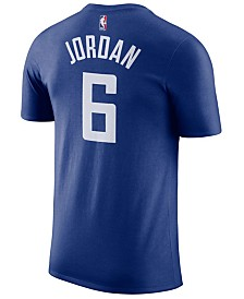 Nike Men's DeAndre Jordan Los Angeles Clippers Name & Number Player T-Shirt