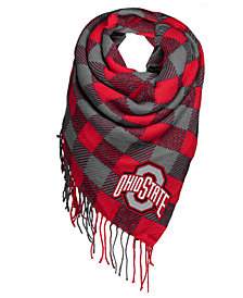 Forever Collectibles Ohio State Buckeyes Blanket Scarf