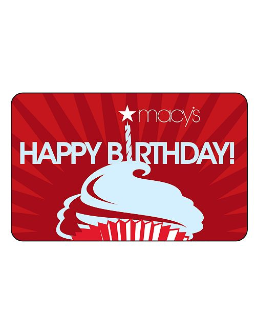 Birthday E Gift Card Macys Cards Main Image