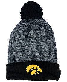 Nike Iowa Hawkeyes Heather Pom Knit Hat