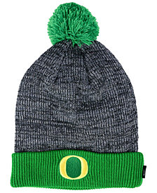 Nike Oregon Ducks Heather Pom Knit Hat