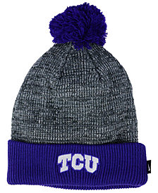 Nike TCU Horned Frogs Heather Pom Knit Hat