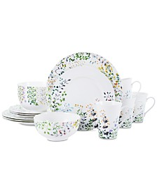 Mikasa Tivoli Garden 16-Pc. Dinnerware Set, Service For 4