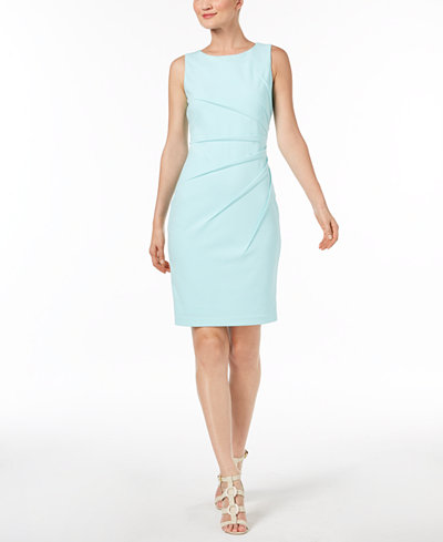 Calvin Klein Sunburst Sheath Dress Dresses Women Macy S