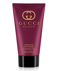 Gucci Guilty Absolute Pour Femme Body Lotion, 5-oz.
