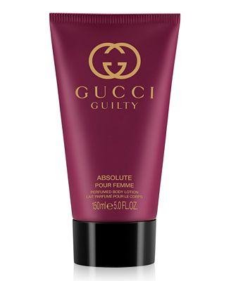 gucci guilty absolute pour femme body lotion 5oz