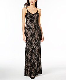 Xscape Sequined Lace Gown