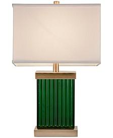 JLA Emerald Table Lamp