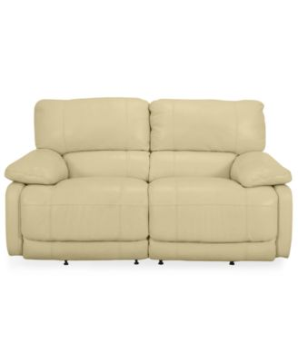 Nina Leather Dual Power Reclining Loveseat  sc 1 st  Macyu0027s & Nina Leather Dual Power Reclining Loveseat - Furniture - Macyu0027s islam-shia.org
