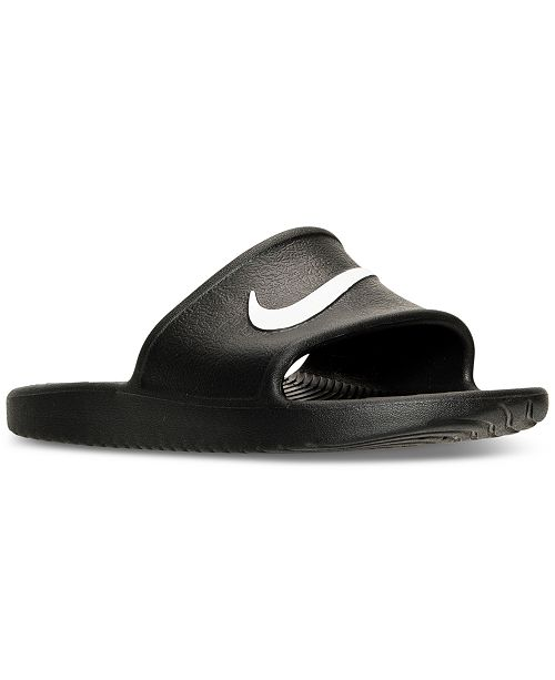 da7dc8127 Nike Men s Kawa Slide Sandals from Finish Line   Reviews - Finish ...