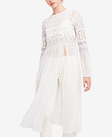 Free People Sweet Sunny Days Embroidered Tunic