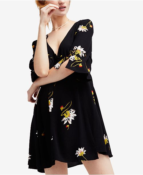 Free People Time On My Side Wrap Dress